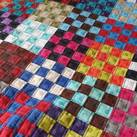 Colourful Lap Quilt