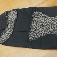Dog Coat Medium Waterproof with fleece lining