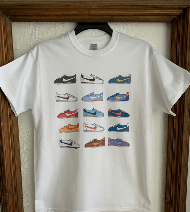 Hand Drawn Cortez Trainers T-Shirt