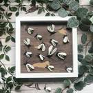 Ceramic Bee Picture Frame - Victorian Curiosities