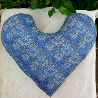 Big Heart surgery pillow.  Chest pillow.  Made from Liberty Lawn.
