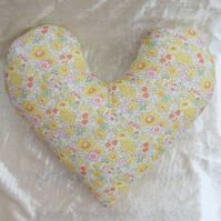 Big Heart surgery pillow.  Mastectomy pillow.  Chest pillow.  Betsy design.