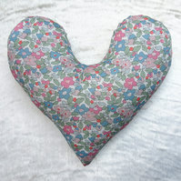 Mastectomy pillow.  Breast surgery pillow.  Made from Liberty Lawn.