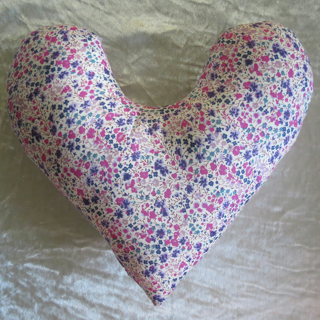 Mastectomy pillow.  Underarm  pillow.  Made from Liberty Lawn. Phoebe.