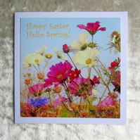 Happy Easter, Hello Spring!  Easter card.