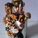 FUNGI SCULPTURE - POLYMER CLAY SCULPTURE