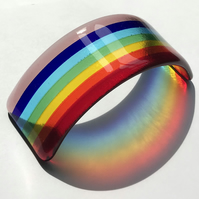 Mini Fused Glass Rainbow