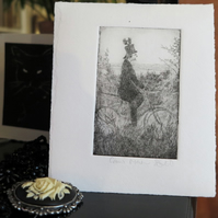 Moody etching 'Crowman'
