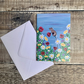 Summer Meadow, blank cards from original paintings A6.