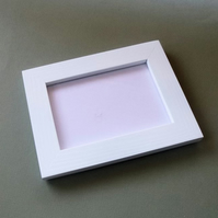 Size A7 Picture Frame in White