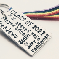 Class of 2021 keyring