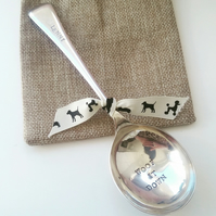 Stamped dog spoon