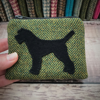 Tweed Border Terrier Coin Purse.