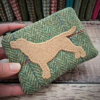 Tweed Labrador Coin Purse.