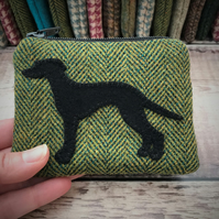 Tweed Whippet Coin Purse.