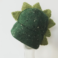 Knitted Dino hat Newborn - 6months