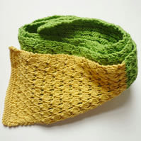 Toddlers cotton scarf - Eco friendly knitwear - Ladies spring acceessory