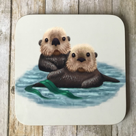 Sea Otters Coaster