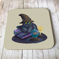 Mystical Cat Coaster