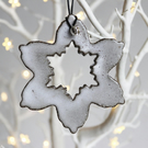 Snowflake decoration - large