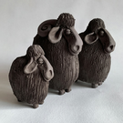 Sheep sculptures