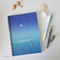 Last sail A5 lined notebook journal jotter