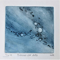 Bubbles 2 of 10 for 2020 charity print Red Cross Coronavirus Appeal