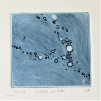 Bubbles 5 of 10 for 2020 charity print Red Cross Coronavirus Appeal
