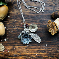 Silver Seed Celebration Necklace