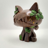 George the Cat Poly Stone Sculpture