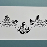 Geometric Cycle Route No. 2