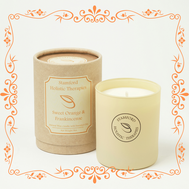 Orange & Frankincense Aromatherapy Jar Candle