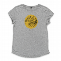 Organic womens Pangolin T-shirt