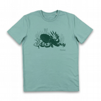Organic Mens Octopus T-shirt