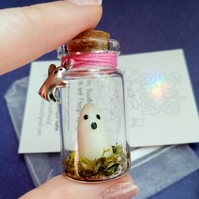 Glow in the Dark Ghost in a Jar