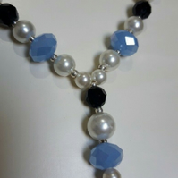 Hand Made Beaded Necklace Ideal For Wedding or Special occasion