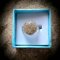 Watergate Bay Sand filled adjustable ring