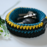 Hand Crochet Trinket Bowl For  Beauty Products, Keys and Jewellery