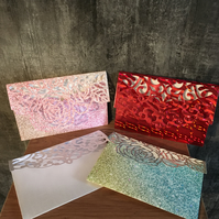 Pretty money or gift card envelopes.