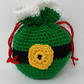 Drawstring Crochet Gift Bag - Elf