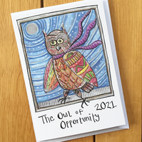 CARD Jazzy – The Owl of Opportunity 2021