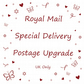 Jewellery by Jo - Postage Upgrade - Special Delivery - UK ONLY