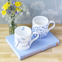 Offer - 2 China Mugs for 23 pounds