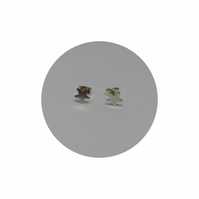 Sterling Silver Star Studs :: Earrings Simple Modern by Crura