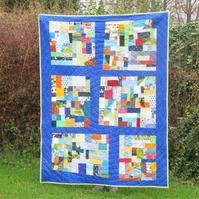 I-Spy Patchwork Quilt Gift for a Child