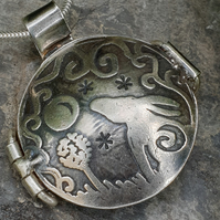 The Midnight Hare locket