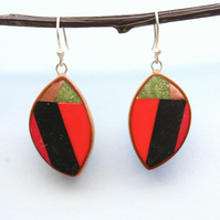 Handmade Designer Modern Style Dangle Earrings