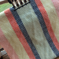 Striped Handwoven Shawl