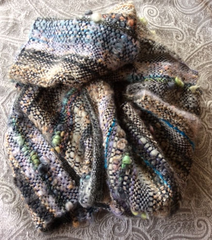 Soari Woven Multicoloured Scarf, Shawl or Wrap