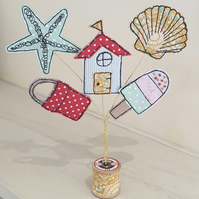 Coastal Decoration, Beach Hut Decoration
